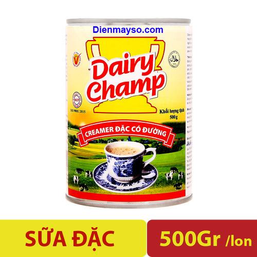Sữa đặc có đường Dairy Champ 500g, Phan phoi sua dac