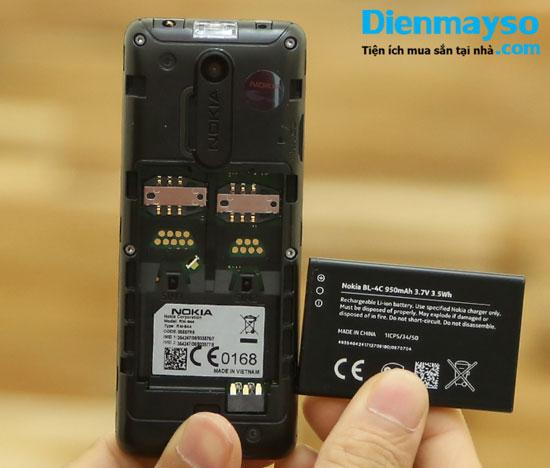 điện thoại nokia 108 với 2 sim 2 sóng